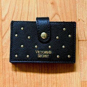Victoria Secret Black and Gold Card Holder